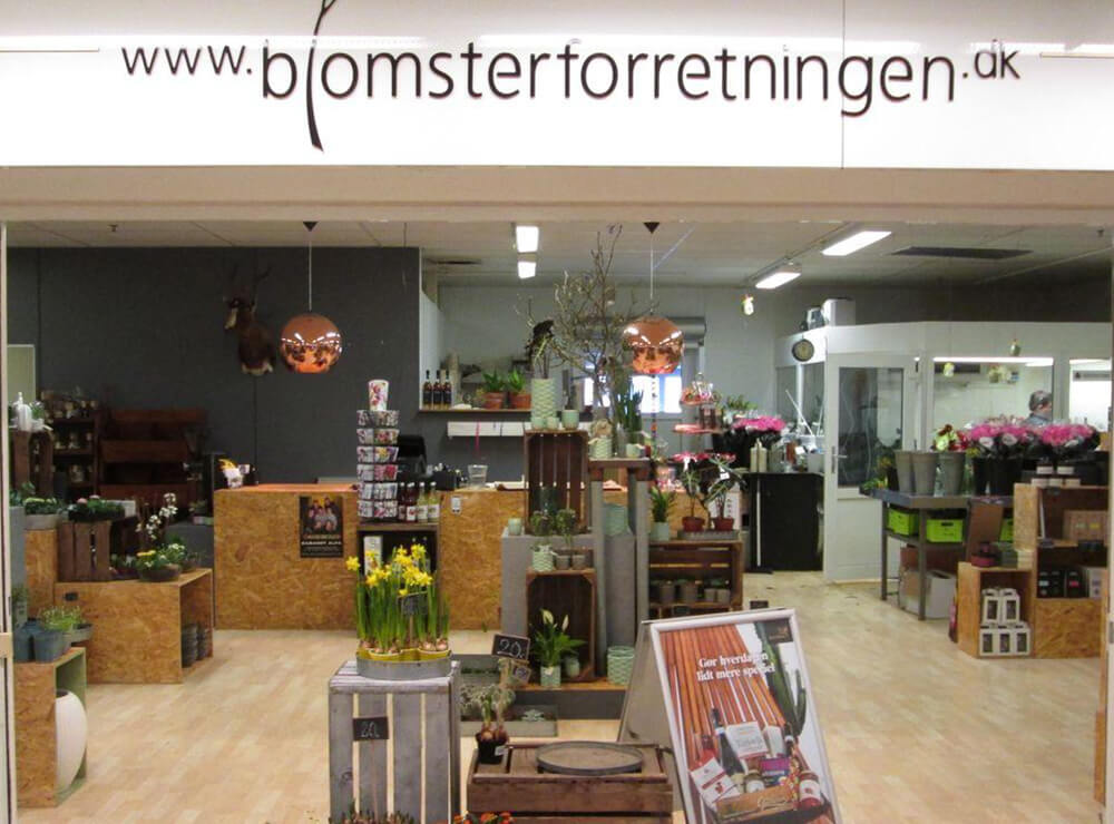 Blomsterforretningen