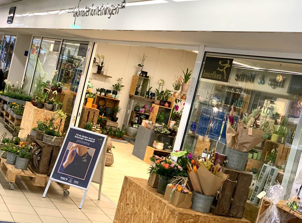 Blomsterforretningen Farsø, blomster