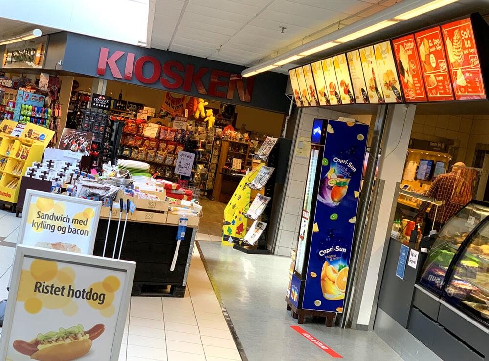 Centerkiosken Farsø, kiosk og grill