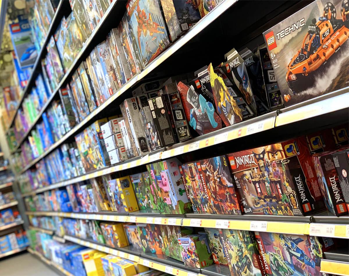 Legekæden legetøj Farsø legetøjsbutik