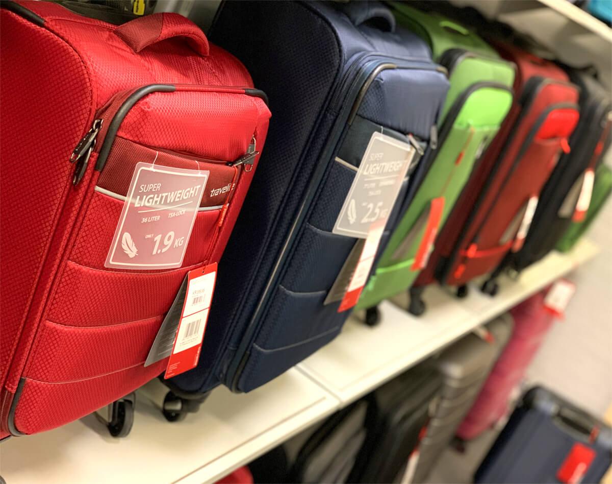 Rejsekufferter, Skoletasker, Farsø